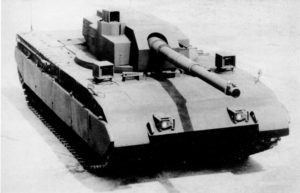 M1 Tank Test Bed.