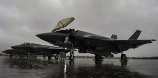 F-35A en el Red Flag