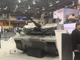 BAE Systems desvela el Armed Robotic Combat Vehicle