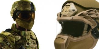 Casco antibalas integral para el US Army