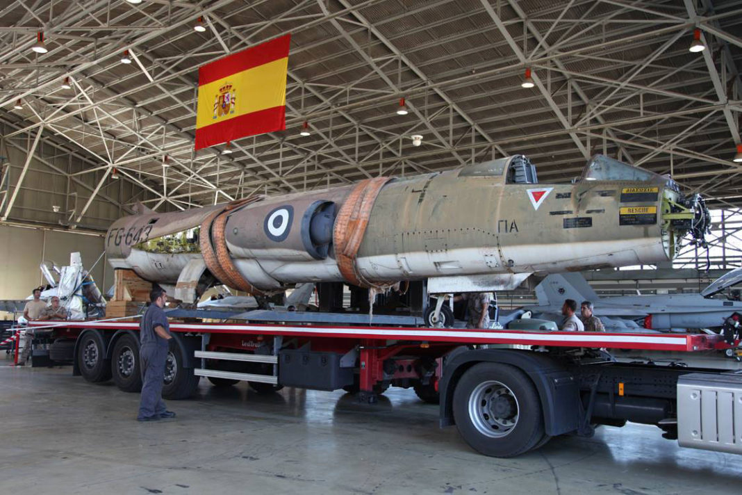 Ala 12 ha recibido un Lockheed F-104 Starfighter